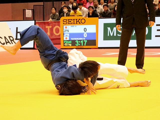 柔道グランドスラム東京2017 女子52kg級 決勝戦 阿部詩 vs 立川莉奈�@
