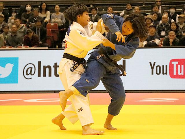 柔道グランドスラム東京2017 女子52kg級 決勝戦 阿部詩 vs 立川莉奈�A