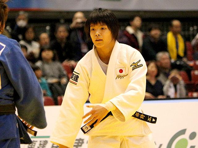 柔道グランドスラム東京2017 女子52kg級 1回戦 阿部詩 vs A.CHINTOGTOKH