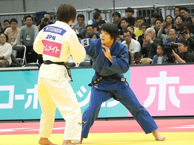 柔道グランドスラム大阪2018 女子52kg級 決勝 阿部詩 vs 角田夏実�A