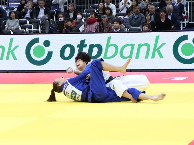 柔道グランドスラム大阪2019 女子52kg級 準々決勝 阿部詩 vs E.GUICA