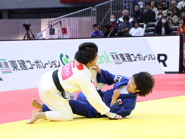 柔道グランドスラム大阪2019 女子52kg級 準決勝戦 阿部詩 vs 志々目愛