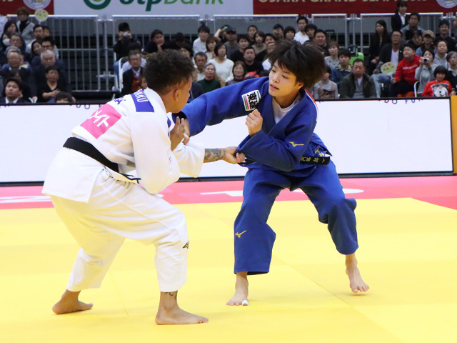 柔道グランドスラム大阪2019 女子52kg級 決勝戦 阿部詩 vs A.BUCHARD�@