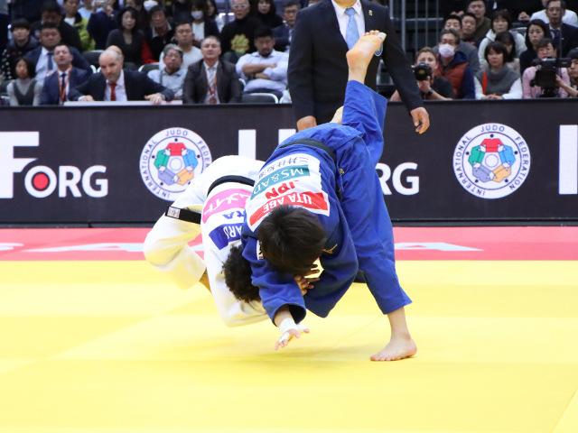 柔道グランドスラム大阪2019 女子52kg級 決勝戦 阿部詩 vs A.BUCHARD�A