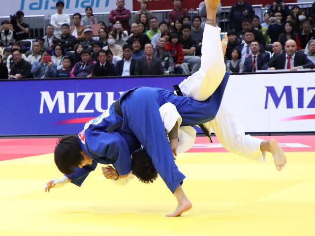 柔道グランドスラム大阪2019 女子52kg級 決勝戦 阿部詩 vs A.BUCHARD�B