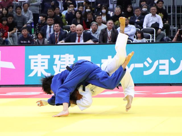 柔道グランドスラム大阪2019 女子52kg級 決勝戦 阿部詩 vs A.BUCHARD�C