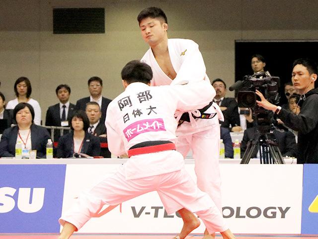 2019年全日本選抜柔道体重別選手権大会 男子66kg級 決勝 丸山城志郎 vs 阿部一二三�C