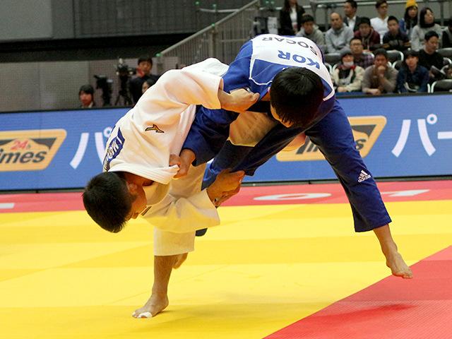 柔道グランドスラム大阪2018 男子66kg級 2回戦 丸山城志郎vs H.SHIN