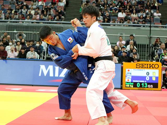柔道グランドスラム大阪2018 男子66kg級 2回戦 丸山城志郎vs 藤阪太郎�B