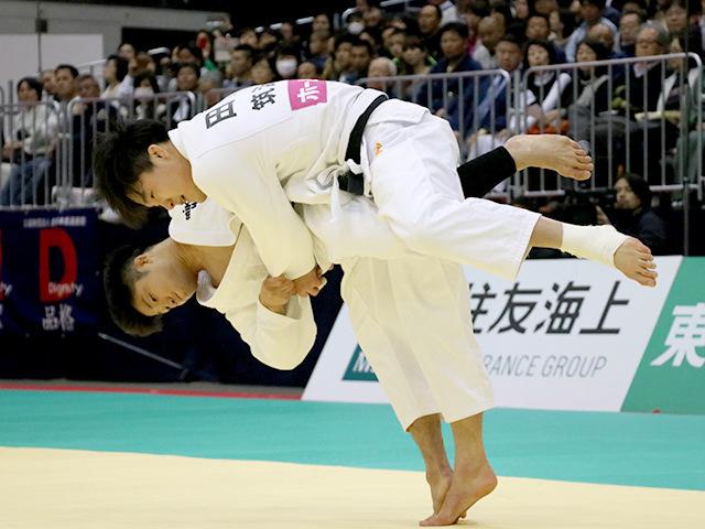 2018年全日本選抜柔道体重別選手権大会 男子66kg級 決勝 丸山城志郎 vs 田川兼三�B
