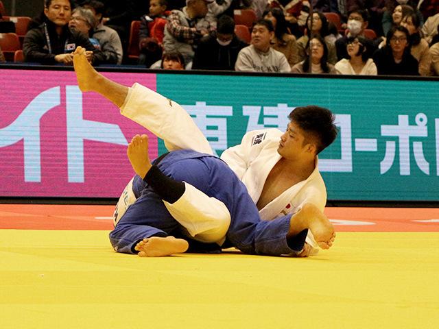 柔道グランドスラム東京2017 男子66kg級 準決勝 丸山城志郎 vs B.AN