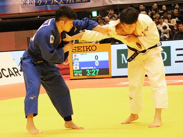 柔道グランドスラム東京2017 男子66kg級 決勝 丸山城志郎 vs 阿部一二三
