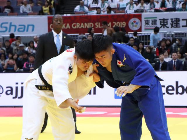 柔道グランドスラム大阪2019 男子66kg級 準決勝戦 丸山城志郎 vs 西山祐貴�@