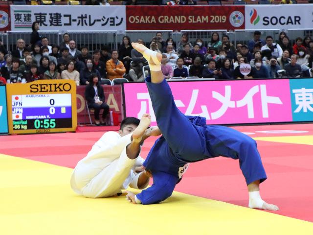 柔道グランドスラム大阪2019 男子66kg級 準決勝戦 丸山城志郎 vs 西山祐貴�A