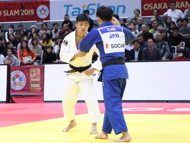 柔道グランドスラム大阪2019 男子66kg級 決勝戦 丸山城志郎 vs 阿部一二三