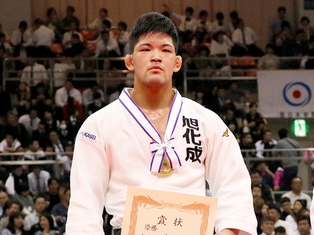2019年全日本選抜柔道体重別選手権大会 男子73kg級 表彰式 大野将平