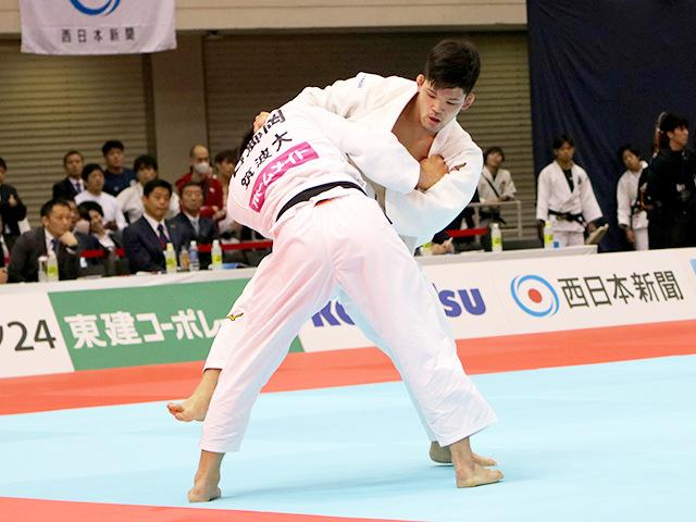 2019年全日本選抜柔道体重別選手権大会 男子73kg級 1回戦 大野将平 vs 石郷岡秀征�A