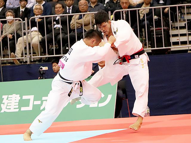 2019年全日本選抜柔道体重別選手権大会 男子73kg級 準決勝 大野将平 vs 海老沼匡�B