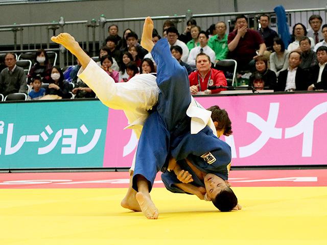 柔道グランドスラム大阪2018 男子73kg級 2回戦 大野将平 vs C.WAGNER�@