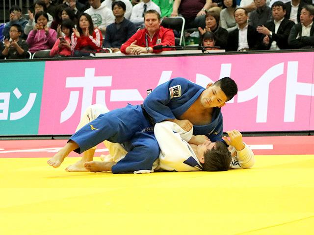 柔道グランドスラム大阪2018 男子73kg級 2回戦 大野将平 vs C.WAGNER�A