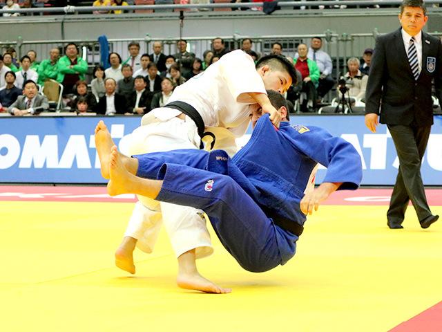 柔道グランドスラム大阪2018 男子73kg級 準々決勝 大野将平 vs B.CILOGLU