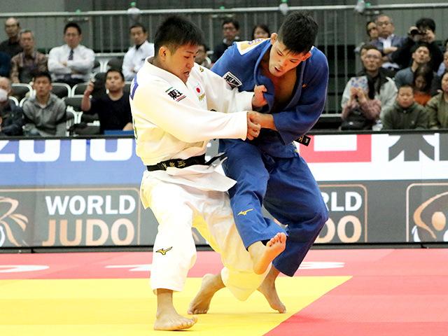 柔道グランドスラム大阪2018 男子73kg級 準決勝 大野将平 vs 立川新�@