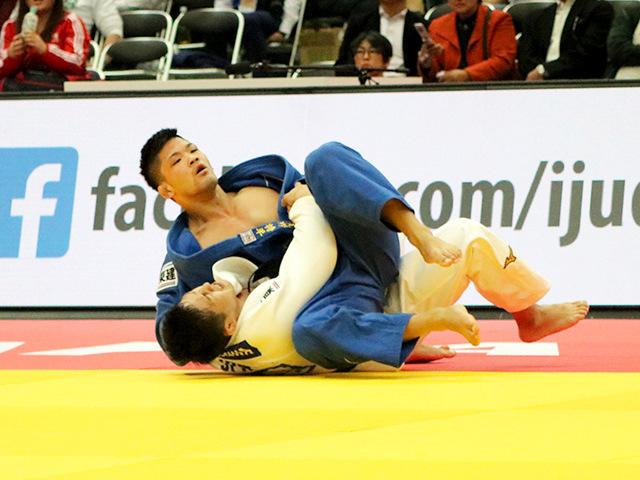 柔道グランドスラム大阪2018 男子73kg級 準決勝 大野将平 vs 立川新�B