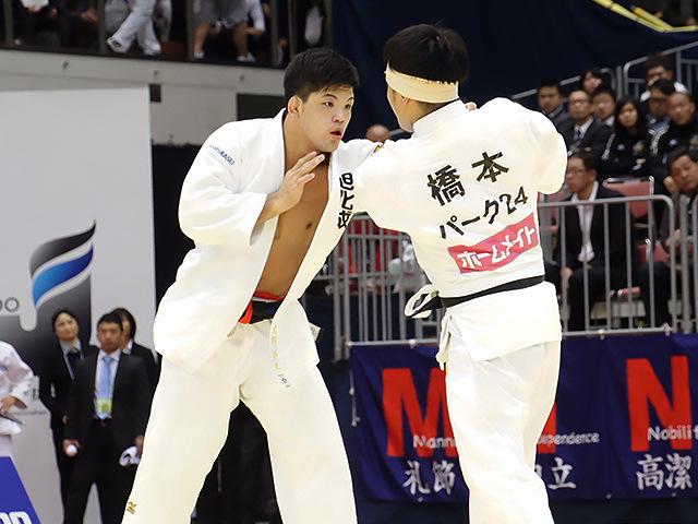 2016年全日本選抜柔道体重別選手権大会 男子73kg級 準決勝 大野将平 vs 橋本壮市