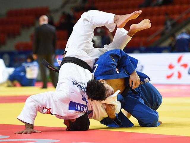 2015年アスタナ世界柔道選手権大会/国別団体戦 男子73kg級 準々決勝 大野将平 vs S.MUKI