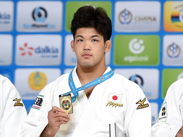 2015年アスタナ世界柔道選手権大会/国別団体戦 男子73kg級 表彰式 大野将平