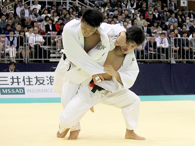 2015年全日本選抜柔道体重別選手権大会 男子73kg級 1回戦 大野将平 vs 中村剛教