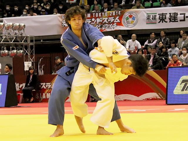 柔道グランドスラム東京2014 男子73kg級 3回戦 大野将平 vs E.BRIAND