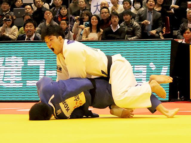 柔道グランドスラム東京2014 男子73kg級 準々決勝 大野将平 vs C.AN