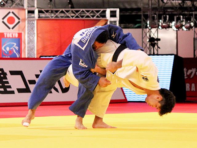 柔道グランドスラム東京2014 男子73kg級 決勝 大野将平 vs 秋本啓之�A