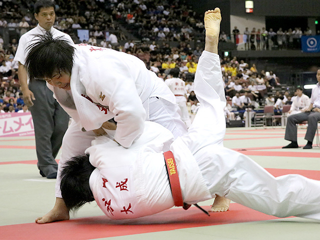 平成29年度金鷲旗高校柔道大会 女子準決勝 南筑高校 vs 大成高校A
