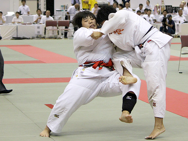 平成29年度金鷲旗高校柔道大会 女子5回戦 南筑高校 vs 八千代高校�A