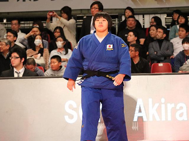 柔道グランドスラム東京2016 女子78kg超級 決勝戦 素根輝 vs 朝比奈沙羅@