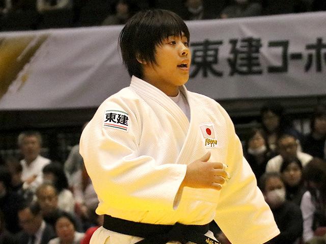 柔道グランドスラム東京2016 女子78kg超級 準決勝 素根輝 vs E.LEEA