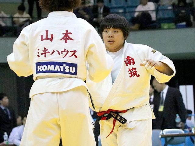 平成29年度講道館杯全日本柔道体重別選手権大会 女子78kg超級 準決勝 素根輝 vs 山本沙羅�@