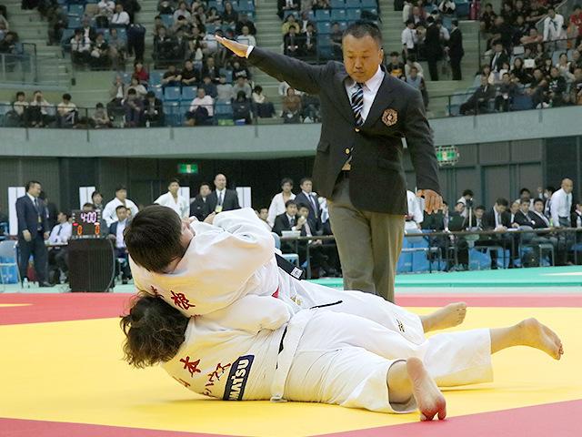 平成29年度講道館杯全日本柔道体重別選手権大会 女子78kg超級 準決勝 素根輝 vs 山本沙羅�B
