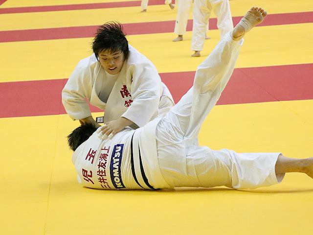 平成29年度講道館杯全日本柔道体重別選手権大会 女子78kg超級 準々決勝 素根輝 vs 児玉ひかる