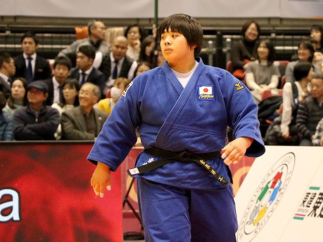 柔道グランドスラム東京2017 女子78kg超級 決勝戦 素根輝 vs 朝比奈沙羅