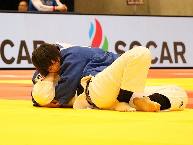 柔道グランドスラム東京2017 女子78kg超級 準決勝戦 素根輝 vs M.KIM