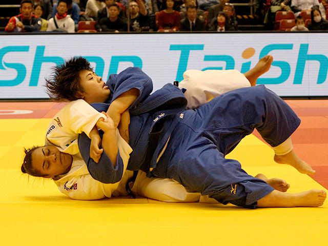 柔道グランドスラム東京2017 女子78kg超級 準々決勝戦 素根輝 vs M.ALTHEMAN�@