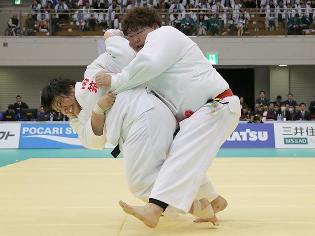 平成30年全日本選抜柔道体重別選手権大会 女子78kg超級 決勝戦 素根輝 vs 朝比奈沙羅A