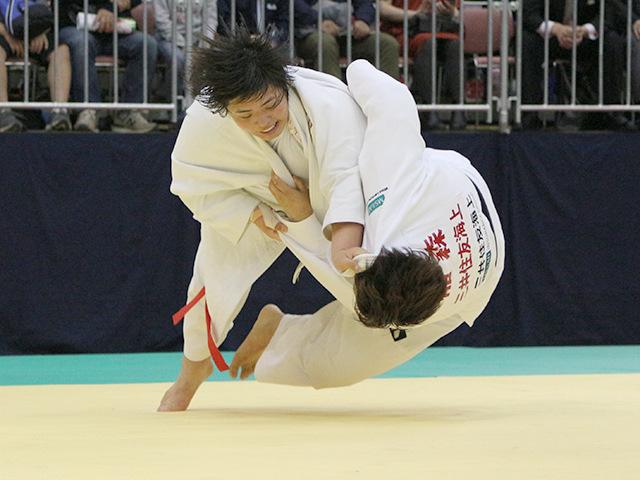 平成30年全日本選抜柔道体重別選手権大会 女子78kg超級 準決勝 素根輝 vs 稲森奈見A