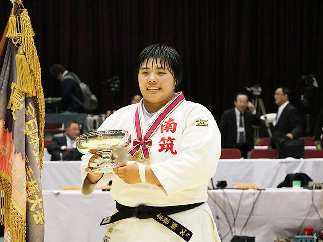 第33回皇后盃全日本女子柔道選手権大会 優勝 素根輝