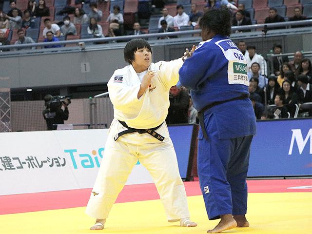 柔道グランドスラム大阪2018 女子78kg超級 決勝 素根輝 vs I.ORTIZ