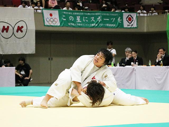 第33回皇后盃全日本女子柔道選手権大会 決勝戦 素根輝 vs 冨田若春A