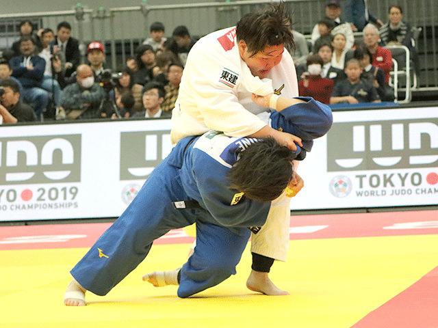 柔道グランドスラム大阪2018 女子78kg超級 準決勝 素根輝 vs 朝比奈沙羅�@